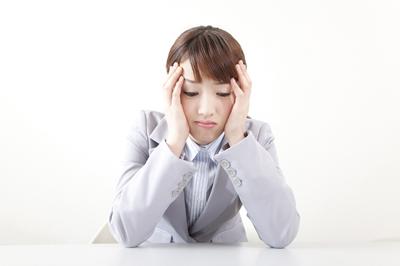 ストレス女性画像