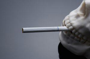 タバコ煙画像