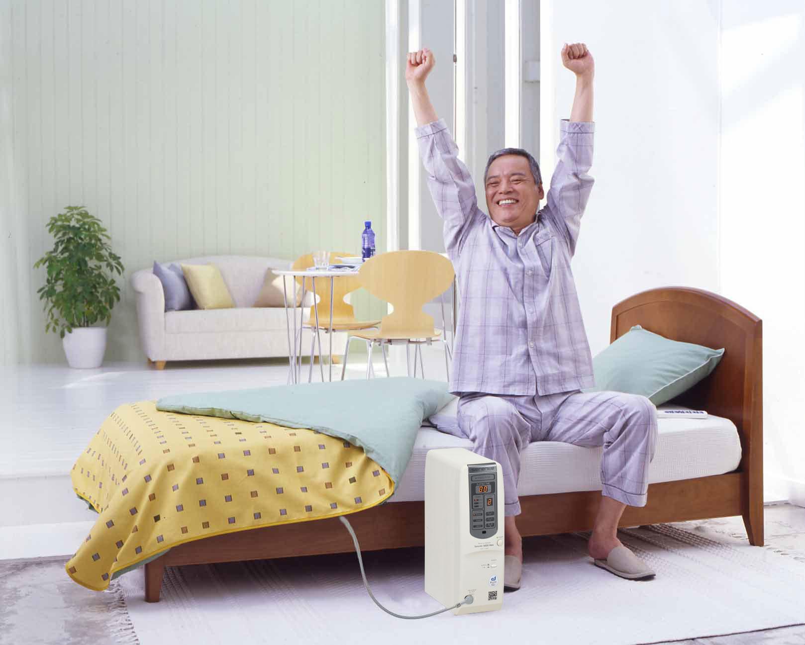 就寝中に毎日使用することで不眠症、睡眠負債、頭痛に効果を発揮します。