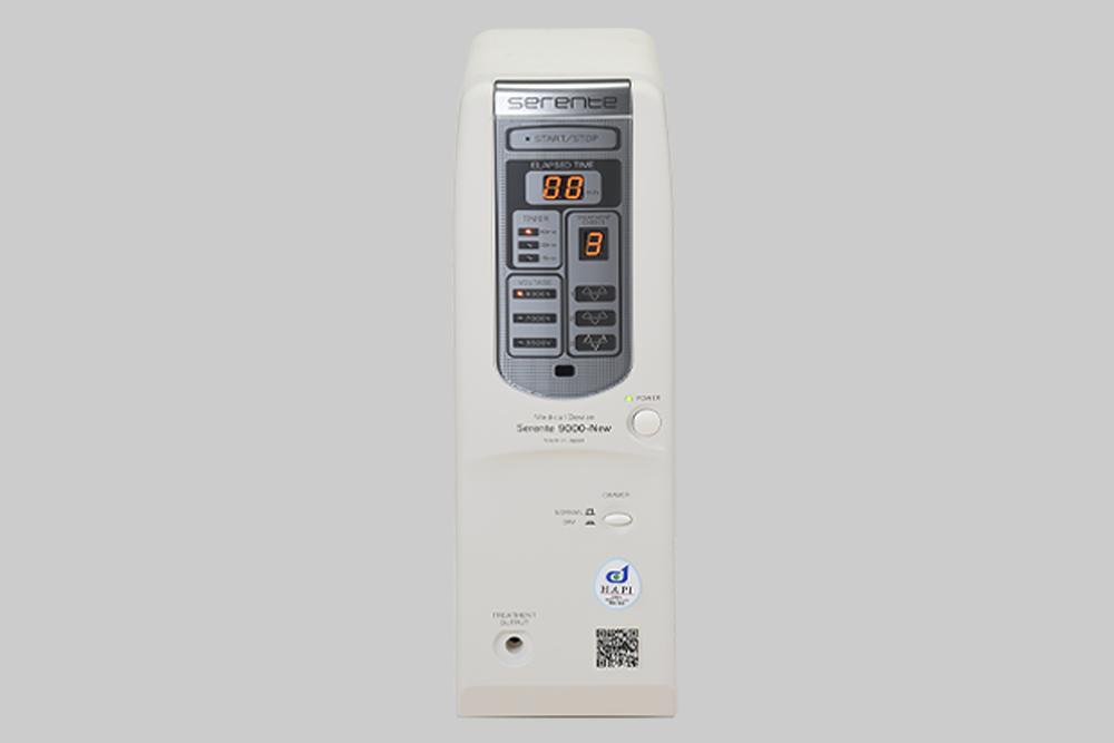 温熱式指圧代用器P590と局部用スペシャルマット